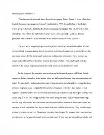 Salad bowl vs melting pot essay professional home work writer websites ca